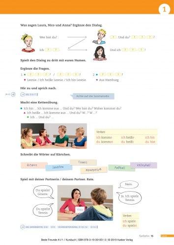 Beste Freunde A1.1 Kursbuch / Підручник для учня