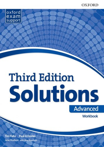 Solutions (3rd Edition) Advanced Workbook / Робочий зошит