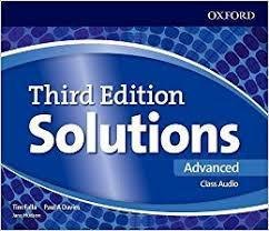 Solutions (3rd Edition) Advanced Class Audio CDs / Аудіо диск