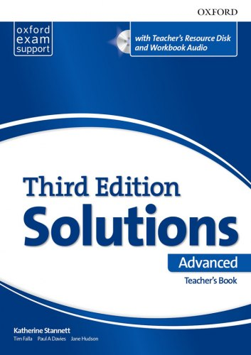 Solutions (3rd Edition) Advanced Teacher's Book with Teacher's Resource Disc and Workbook Audio / Підручник для вчителя