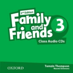 Family and Friends 3 (2nd Edition) Class CDs / Аудіо диск