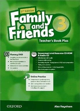Family and Friends 3 (2nd Edition) Teacher's Book Plus / Підручник для вчителя