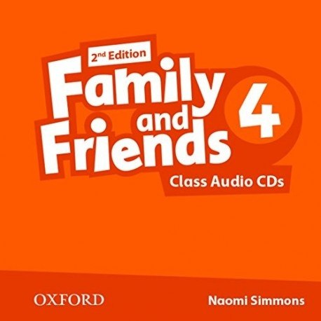 Family and Friends 4 (2nd Edition) Class CDs Oxford University Press