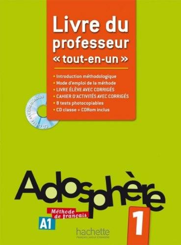 Adosphère 1 Livre du professeur / Підручник для вчителя