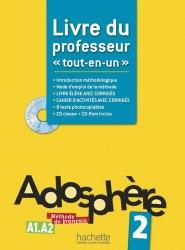 Adosphère 2 Livre du professeur / Підручник для вчителя