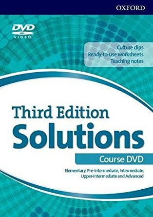 Solutions (3rd Edition) Elementary-Advanced DVD / DVD диск на всі рівні