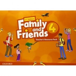 Family and Friends 4 (2nd Edition) Teacher's Resource Pack / Ресурси для вчителя