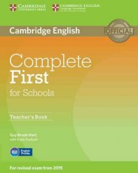 Complete First for Schools Teacher's Book / Підручник для вчителя