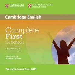 Complete First for Schools Class Audio CDs / Аудіо диск