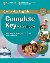 Complete Key for Schools Student's Book with answers and CD-ROM / Підручник для учня