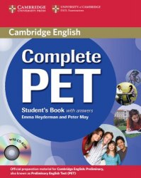 Complete PET Student's Book with answers and CD-ROM Cambridge University Press
