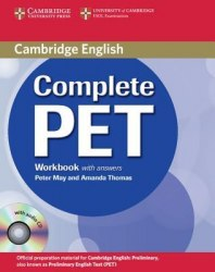 Complete PET Workbook with answers and Audio CD Cambridge University Press