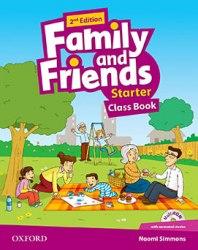Family and Friends Starter (2nd Edition) Class Book and MultiROM / Підручник для учня