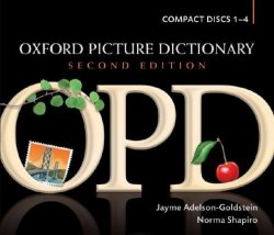 Oxford Picture Dictionary Second Edition Dictionary Compact Discs 1-4 / Словник