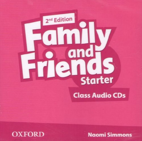 Family and Friends Starter (2nd Edition) Class CD (2) / Аудіо диск