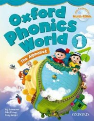 Oxford Phonics World 1: The Alphabet Student's Book with MultiROM / Підручник для учня