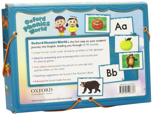 Oxford Phonics World 1: The Alphabet Phonics Cards / Картки