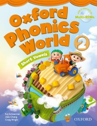 Oxford Phonics World 2: Short Vowels Student's Book with MultiROM / Підручник для учня