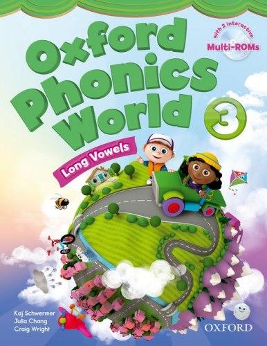 Oxford Phonics World 3: Long Vowels Student's Book with MultiROM / Підручник для учня