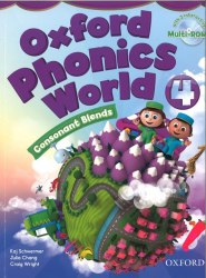 Oxford Phonics World 4: Consonant Blends Student's Book with MultiROM / Підручник для учня