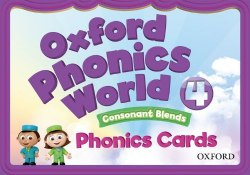 Oxford Phonics World 4: Consonant Blends Phonics Cards / Картки