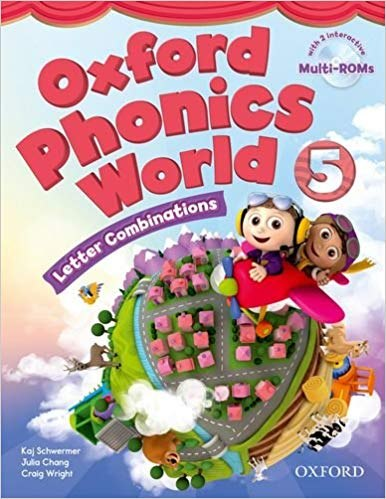 Oxford Phonics World 5: Letter Combinations Student's Book with MultiROM / Підручник для учня