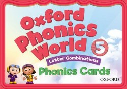 Oxford Phonics World 5: Letter Combinations Phonics Cards / Картки