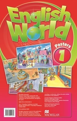 English World 1 Posters / Плакати