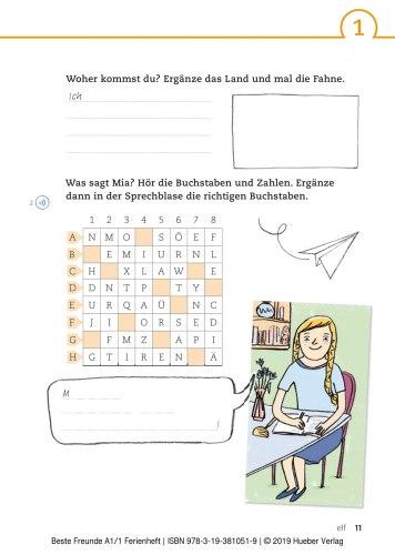 Beste Freunde A1.1 Ferienheft / Зошит з вправами
