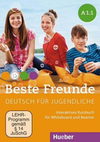 Beste Freunde A1.1 Interaktives Kursbuch für Whiteboard und Beamer DVD-ROM / Ресурси для інтерактивної дошки