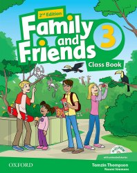 Family and Friends 3 (2nd Edition) Class Book and Multi-ROM / Підручник для учня