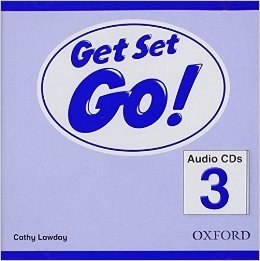 Get Set Go! 3 Audio CDs / Аудіо диск