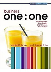 Business one:one Pre-Intermediate Student's Book with MultiROM / Підручник для учня