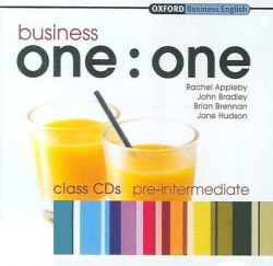 Business one:one Pre-Intermediate Class CDs / Аудіо диск