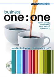 Business one:one Intermediate+ Student's Book with MultiROM / Підручник для учня