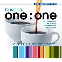 Business one:one Intermediate+ Class CDs / Аудіо диск