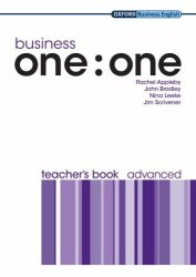 Business one:one Advanced Teacher's Book / Підручник для вчителя
