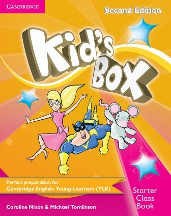 Kid's Box Second Edition Starter Class Book with CD-ROM / Підручник для учня