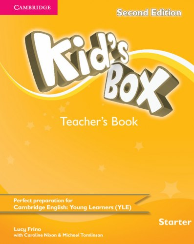 Kid's Box Second Edition Starter Teacher's Book / Підручник для вчителя