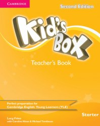 Kid's Box Second Edition Starter Teacher's Book Cambridge University Press