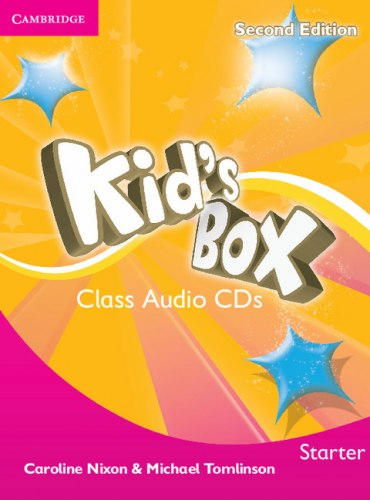 Kid's Box Second Edition Starter Class Audio CDs / Аудіо диск