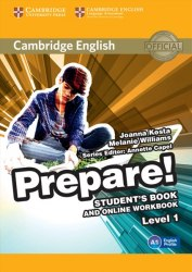 Cambridge English Prepare! 1 Student's Book with Online Workbook / Підручник для учня