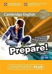 Cambridge English Prepare! 1 Presentation Plus DVD-ROM / Ресурси для інтерактивної дошки