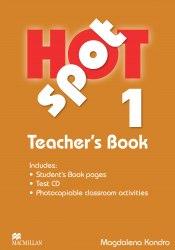 Hot Spot 1 Teacher's Book with Test CD / Підручник для вчителя