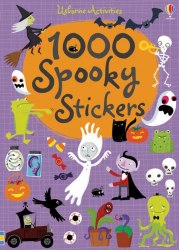 1000 Spooky Stickers Usborne Publishing