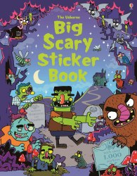 Big Scary Sticker Book Usborne Publishing