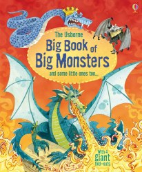 Big Book of Big Monsters Usborne Publishing