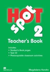 Hot Spot 2 Teacher's Book with Test CD / Підручник для вчителя