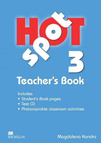 Hot Spot 3 Teacher's Book with Test CD / Підручник для вчителя