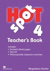 Hot Spot 4 Teacher's Book with Test CD / Підручник для вчителя